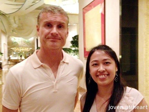 David Coulthard in Singapore 2013