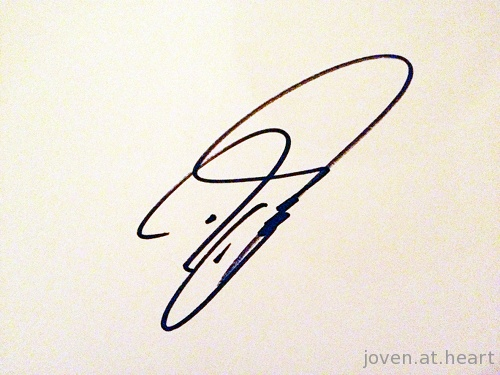 David Coulthard autograph