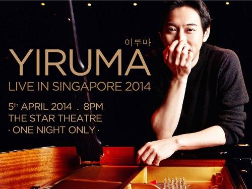 Yiruma Singapore 2014