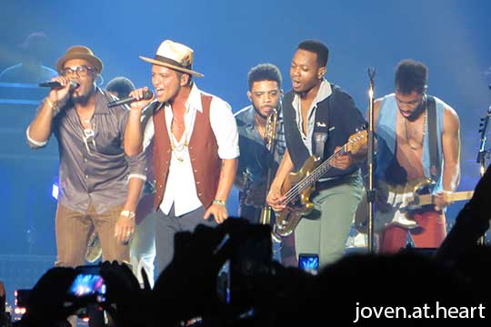Bruno Mars @ Moonshine Jungle Tour Singapore 2014