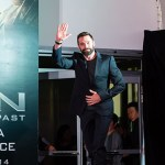 Hugh Jackman at the X-Men: Days of Future Past Press Conference