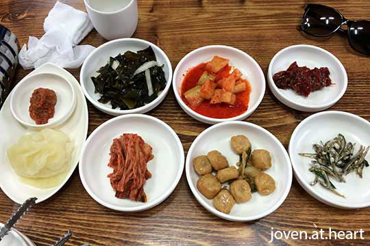 Jeju Island Seafood Soup Side Dishes