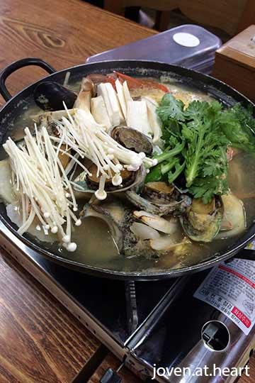 Jeju Island Seafood Soup
