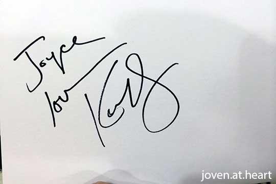 Kate Bosworth autograph