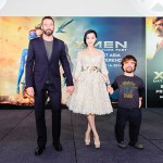 Hugh Jackman, Fan Bing Bing, Peter Dinklage at the X-Men: Days of Future Past Press Conference