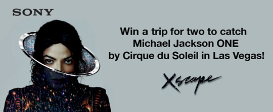 Sony Xperia - Michael Jackson ONE by Cirque du Soleil