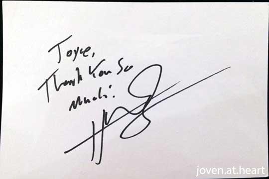 Hunter Hayes autograph