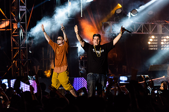 Thaitanium at MTV World Stage Malaysia 2014 (photo © MTV Asia & Lucas Lau)