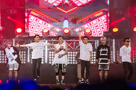 Boys Republic at MTV World Stage Malaysia 2014 (photo © MTV Asia & Aloysius Lim)