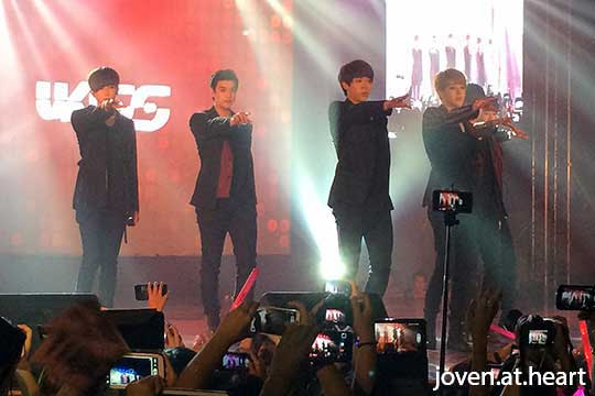 U-Kiss @ KNation Showcase Manila 2014