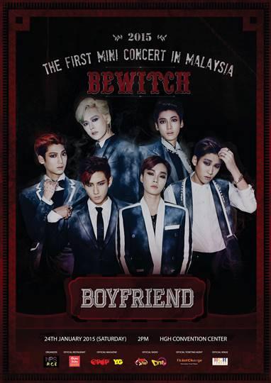 Boyfriend Mini Concert KL 2015 poster