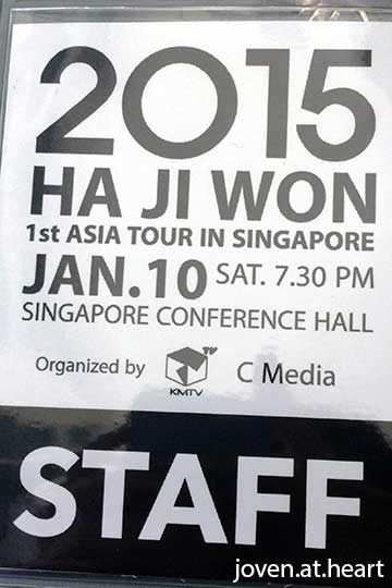 Ha Ji Won Singapore 2015 Fan Meet