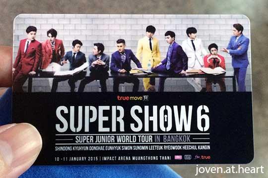 Super Show 6 in Bangkok 2015