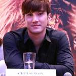 Super Junior Choi Siwon @ Dragon Blade Press Conference, Singapore 2015