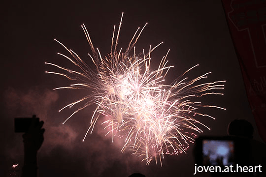 Fireworks, Singapore 50th National Day Parade, #SG50