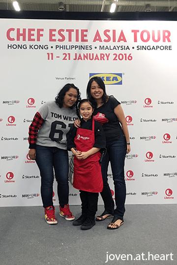 with Chef Estie, Chef Estie Asia Tour (2016)