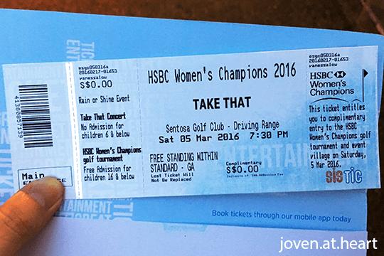 Take That (Singapore 2016)