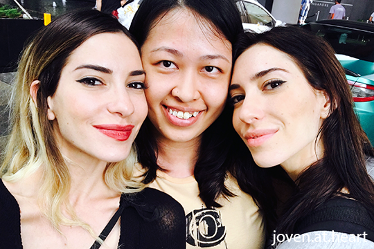 With The Veronicas