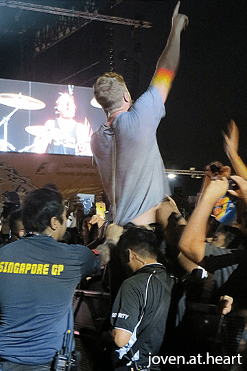 Imagine Dragons @ 2016 Formula 1 Singapore Airlines Singapore Grand Prix