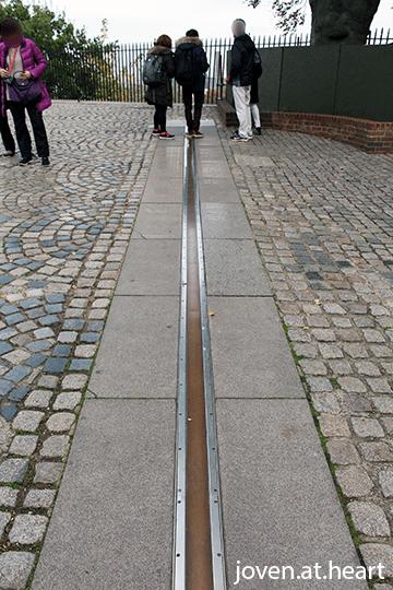 Meridian line @ Royal Observatory, Greenwich