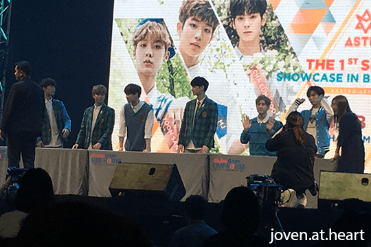"Astro ""The 1st Season"" Showcase in Bangkok 2017"