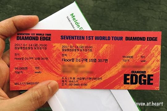 Seventeen Diamond Edge World Tour Seoul