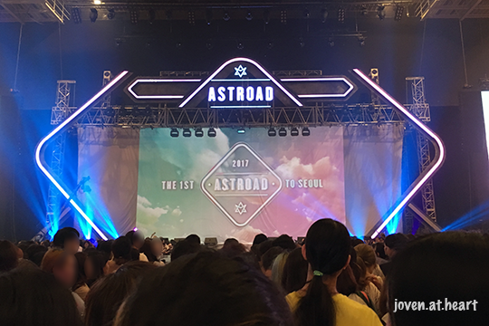 The 1st Astroad To Seoul - My view of the stage on Day 2