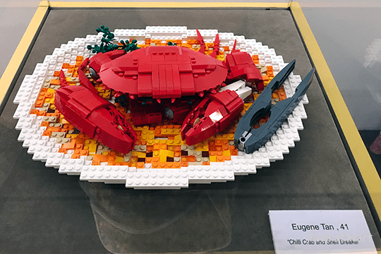 Piece of Peace: World Heritage Exhibit Built With Lego Brick