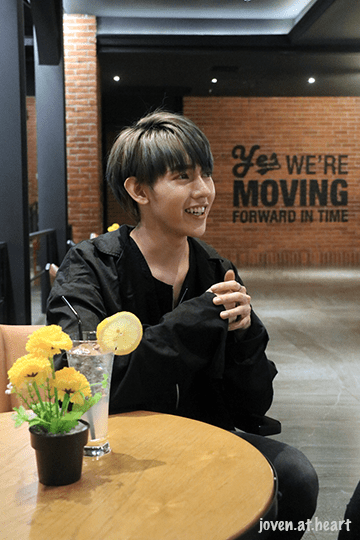 14U Loudi interview in Jakarta