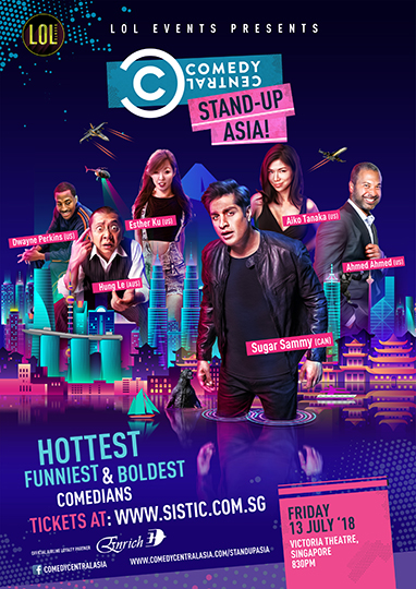 Stand-Up, Asia! Singaproe 2018