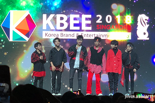 Boy Story @ Korea Brand & Entertainment Expo 2018 Singapore