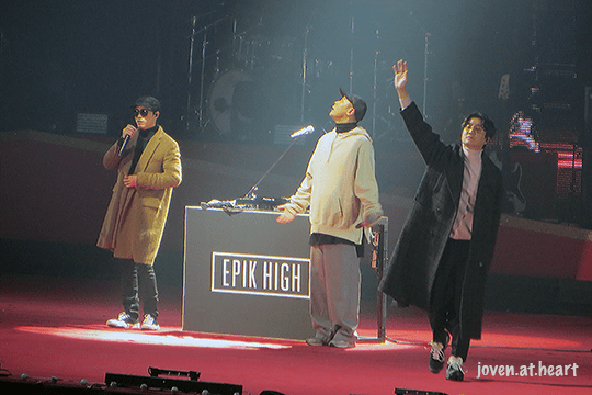"Epik High @ PSY ""All Night Stand"" Seoul 2018"
