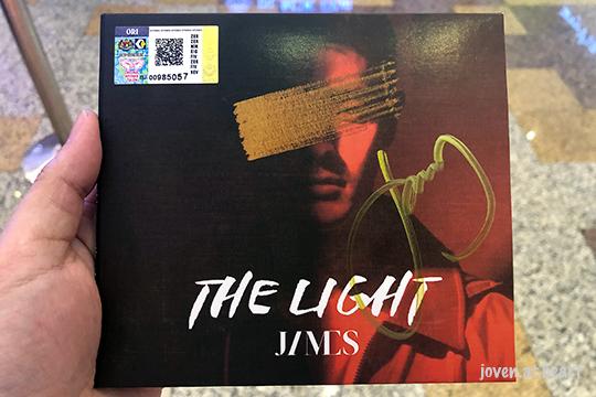 """James """"The Light EP"""" @ Berjaya Times Square, KL"""