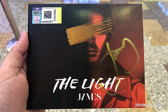"James ""The Light EP"" @ Berjaya Times Square, KL"