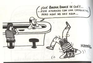 Caricatura de Gerardo Hernandez