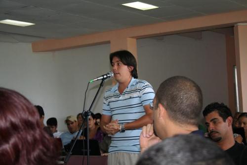 Rodolfo estudiante de la Universidad de la Habana. Blog Letra Joven. Exponiendo sus opiniones