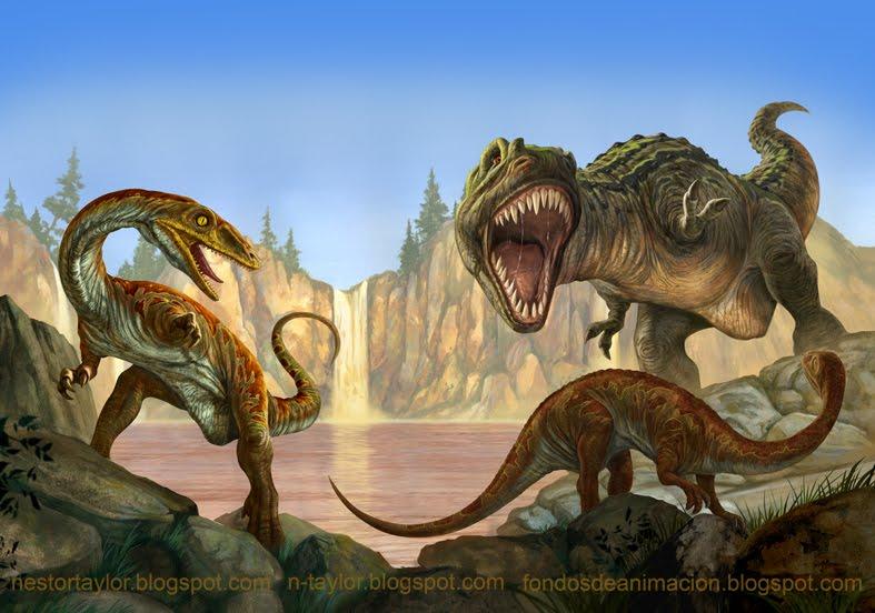 Tapa dinosaurios carnivoros