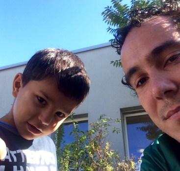niño sirio refujiado
