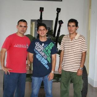 LJC en Girón. Con estas armas, niños milicianos de entre 13 y 15 años custodiaron los cielos de Cuba durante la invasión mercenaria en Girón.