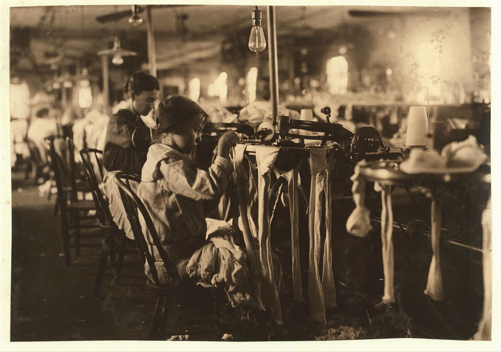 Trabajo infantil de mujeres