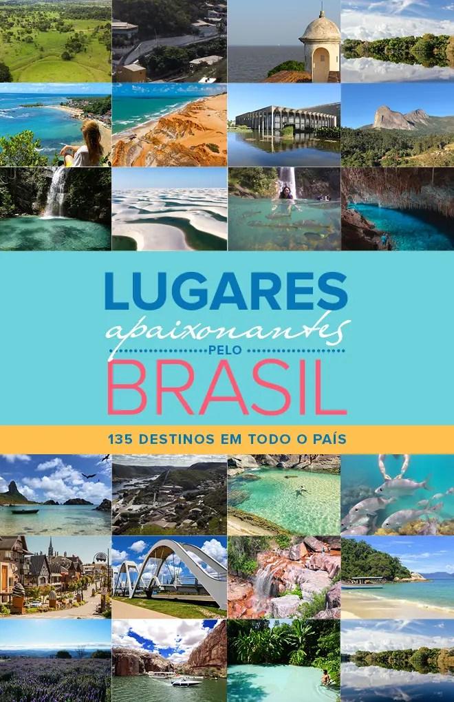 E-BOOK LUGARES APAIXONANTES PELO BRASIL