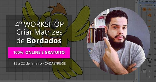 Workshop Bordados Computadorizados