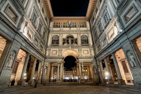 Fl museum Uffizi