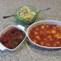 Italian Sunday Dinner For Two