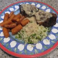 Lamb chops with Creamy Mustard Sauce