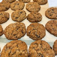 Jumbo Oatmeal Raisin Cookies