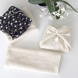 Cotton, terrycloth | Folding insert