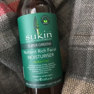 Sukin Super Greens Nutrient Rich Facial Moisturiser