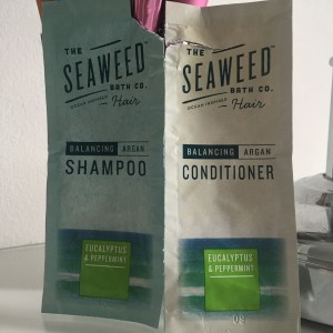 The Seaweed Bath Co Eucalyptus and Peppermint Balancing Argan Shampoo and Conditioner