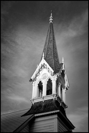 John Day church steeple